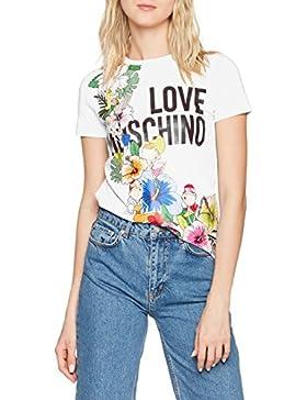 Love Moschino T-Shirt, Camiseta para Mujer
