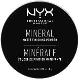 NYX Professional Makeup Mineral Finishing Powder, Los poeder, Matte afwerking, olieabsorberend, veganistische formule, kleur: