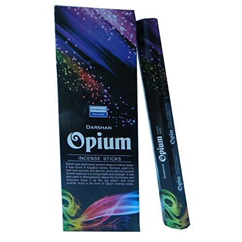 Räucherstäbchen Opium 120 Sticks 6 Schachteln Wohnaccessoire Raumduft Deko