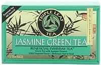 Triple Leaf Tea, Jasmine Green Tea, 20 Tea Bags (Pack of 6)