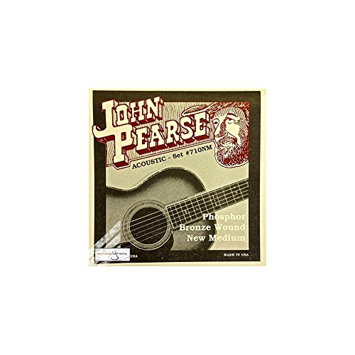 John Pearse 710mNm Phosphor Bronze Acoustic Gitarre Saiten, mittel