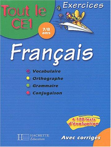 Français Tout le CE1 : Exercices + BD Cédric