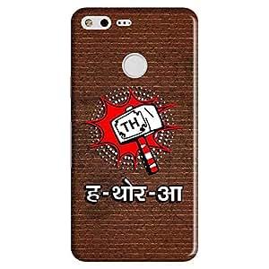 Bhishoom Designer Printed Back Case Cover for Google Pixel (Thor :: Desi :: Comic :: Superhero :: Marvel)