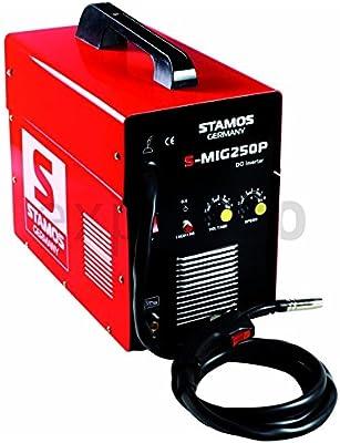 Stamos Germany - S-MIG 250P - Equipo de soldar MIG MAG - 230 V - max. 250 A - ED 60 % - 16,0 kg
