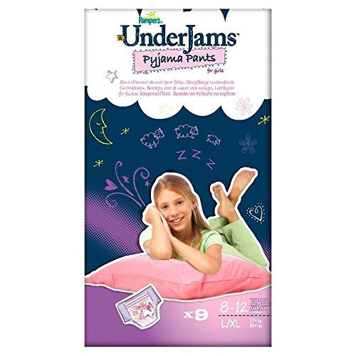 Pampers Underjams Girl Size 8 L-Xl 27Kg+ (9)