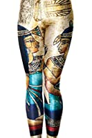 JTC Ladies Girl Flowr Print Stretch Tight Leggings Pencil Pants Multi Designs