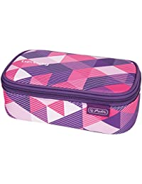 Herlitz 11410651 Faulenzer be.bag beatBox, Black Checked