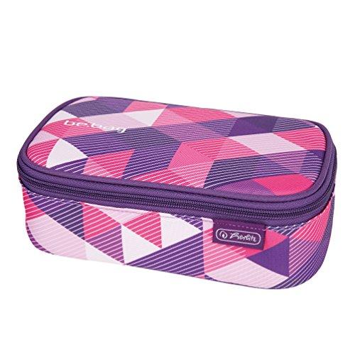 Preisvergleich Produktbild Herlitz 11410701 Faulenzer be.bag beatBox, Purple Checked