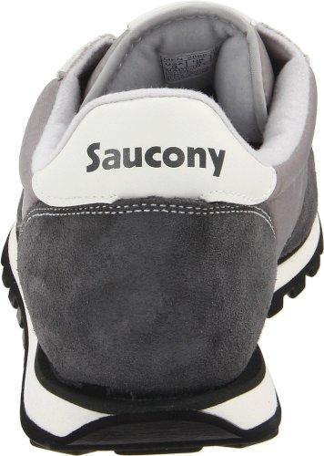Saucony Jazz Low Pro mixte adulte, suède, sneaker low Grey/White