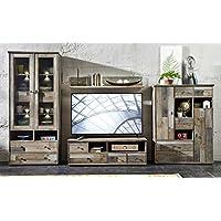 Vintage möbel wohnzimmer  Suchergebnis auf Amazon.de für: vintage moebel - Wohnwände ...