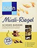 Kölln Müsli-Riegel Schoko-Banane, 11er Pack (11 x 100 g)