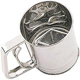 Kitchen Craft KCSIFTER - Tamiz para harina, en acero inoxidable