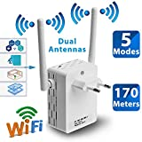 FidgetFidget 300Mbps Extender WiFi Wireless-N Range Repeater Signal Booster Network Router