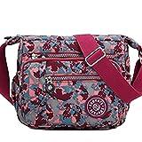 UNYU cross body bag - Bolso cruzados para mujer Multicolor Map(language_tag -> En_gb) talla única