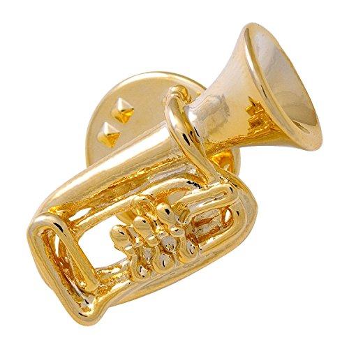 Anstecker Tuba - Schönes Geschenk für Musiker mit Geschenkverpackung