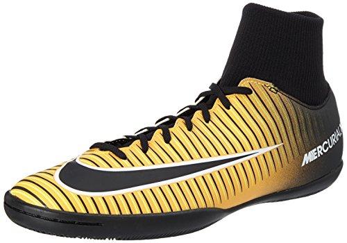 Nike mercurialx victory vi df ic, scarpe per allenamento calcio uomo, arancione (laser orange/black/white/volt), 43 eu