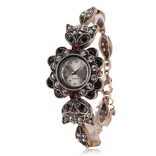 bonamana-vintage-quartz-watch-fox-art-design-bracelet-for-women-teenage-girls-watch