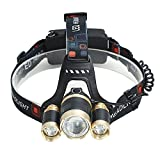 JIALUN- LED 30W LED-Scheinwerfer-wasserdichtes Sturzhelm-Licht für kampierendes Wandern im Freiensport