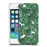 Head Case Designs Offizielle Charlotte Winter Monstera Tropische Muster Soft Gel Hülle für Apple iPhone 5/5s/SE