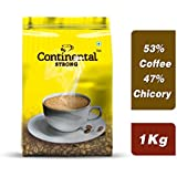 Continental Strong Coffee Powder 1Kg Bag (5 Pouches Of 200 Grams)