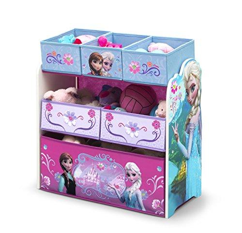 Frozen Wooden - Caja organizadora de juguetes (madera)