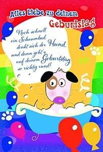 Carte d'anniversaire enfant motif panda flamingo lion, anniversaire, lot de 10