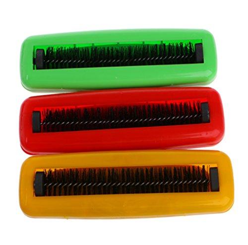 ZOOMY Schmutzbürste Kehrmaschine Kunststoff Teppich Tisch Einzelbürste Schmutz Krümel Collector Cleaner Roller Farbe Nach dem Zufallsprinzip - Teppich-kehrmaschine