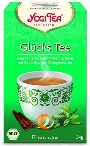 Yogi Glücks Tee BIO 6 Packungen à 17 Teebeutel
