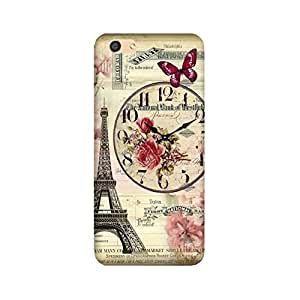 Yashas High Quality Designer Printed Case & Cover for Oppo F3 (Eiffel Tower)