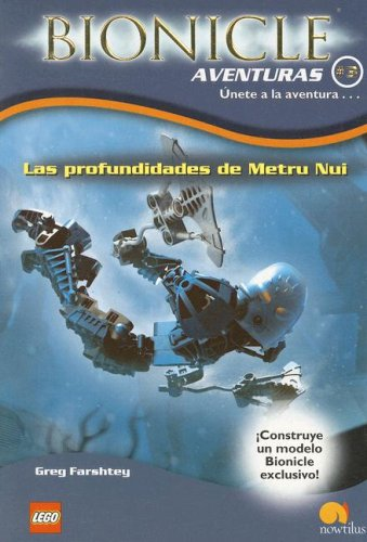 Las profundidades de Metru Nui (Bionicle Aventuras) por Greg Farshtey