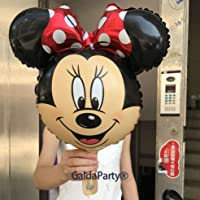 Globo Disney GaldaParty® para inflar con aire o helio (Minnie)
