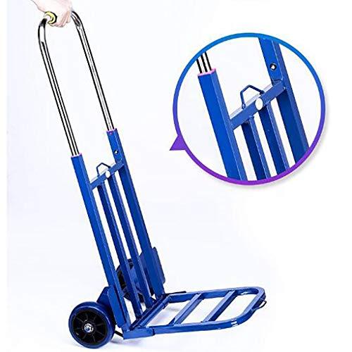 JIANPING Handwagenlaufkatze-Treppenwagengepäckwagenlaufkatzehauptanhänger, der Einkaufswagen faltet carrito de compras (Color : I)
