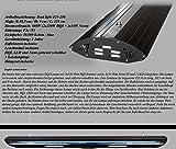 Bio-PUR Aquarien-Hängelampe Real Light HQI Leuchte 2x250W+ 2x54W T5 125cm - Schwarz