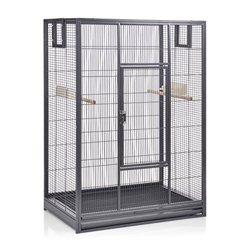 Montana Cages  | Vogelkäfig Melbourne 80 - Antik erweiterbarer Käfig Voliere für Sittiche,...