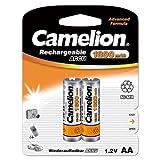 Camelion 17018206 - Batería recargable (2 acumuladores R06, AA, 1800 mAh)