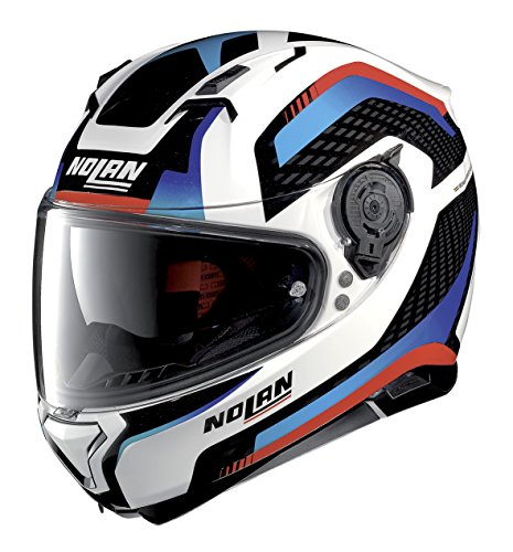 Nolan N87 ARKAD N-COM METAL WHITE S