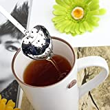 Generic Stainless Steel Heart-Shaped Tea Infuser Strainer Filter Spoon One Piece