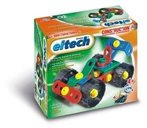 eitech 00326 - Juego de construcción de coche de carreras de plástico importado de Alemania