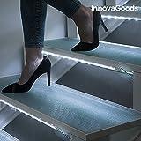 innovagoods LED Röhren mit Bewegungsmelder (Pack von 2), transparent