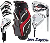 Ben Sayers All Graphite V5 Men's Full Golf Set 2017 Cart Bag Golf Clubs Set New