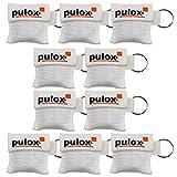 '10X PULOX®respi-Key Keychain Maschera di respirazione di colore scelta possibile