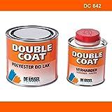 De IJssel Double Coat 2K Bootslack - Farbe Orange/DC 842-500 Gramm Set - (Yachtlack, Decklack)