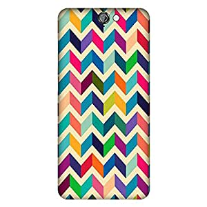 Mobo Monkey Designer Printed Back Case Cover for HTC One A9 (Texture And Patterns :: Zigzag :: Stripes :: Colorful :: Girl)