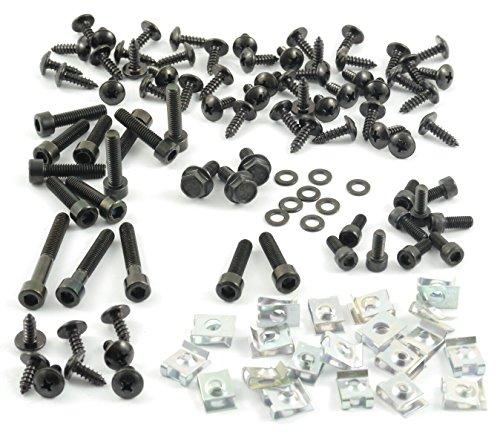 tech-parts-koeln-mega-set-screws-fairing-bolts-black-clips-vario-yamaha-aerox-mbk-nitro
