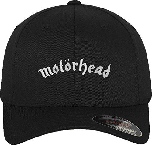MERCHCODE Motörhead Flexfit Cap Kappe, Blk, S/M (Baseball-rock)