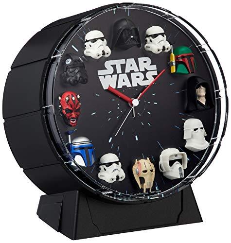 Star Wars (Rhythm Uhr) 12Abbildung des Wecker/Star Wars Schwarz 4zea26mc02