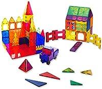 Educativo e Divertente! Accendi l'ispirazione del tuo bambino creando colorati progetti in 2D e 3D con tutti i mattoncini magnetici nel set. Il set di mattoncini magnetici aiuterà il vostro bambino a sviluppare le sue capacità motorie. Classificare l...