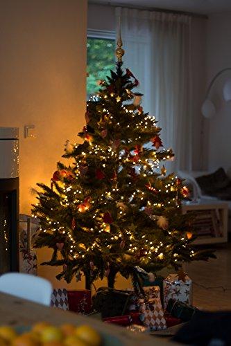 LED Lichtervorhang Tannenbaum