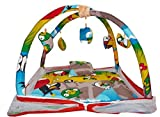 #8: Happy Kids Baby Play Gym with Mosquito Net, Portable, Foldable