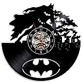 Einzigartigen, modernen Design Batman Theme Vinyl Wanduhr Geschenk